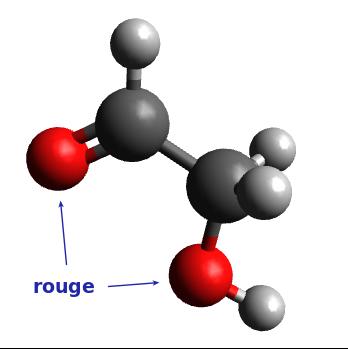 Molécule n°3 : 2-hydroxyéthanal