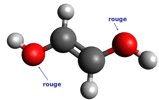 Molécule n°6 : (E)éthen-1,2-diol