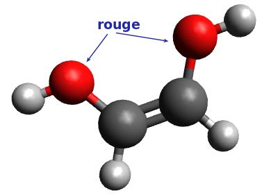 Molécule n°5 : (Z)éthen-1,2-diol