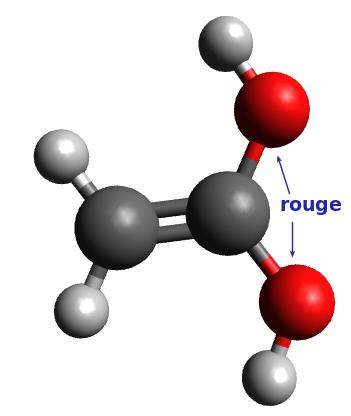 Molécule n°4 : éthen-1,1-diol